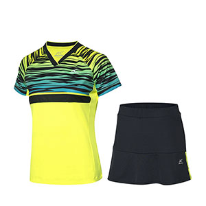 Women Badminton Jersey Shorts Skirt 2019 Kason Quick-Drying Cool Badminton Set Kason FWBN002