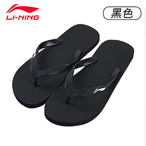 Li Ning slippers flip-flops outdoor lightweight non-slip sandals
