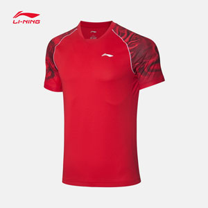 Li ning Table Tennis Jersey 2020 Li Ning Table Tennis T-shirt Li-ning AAYQ049-1-2