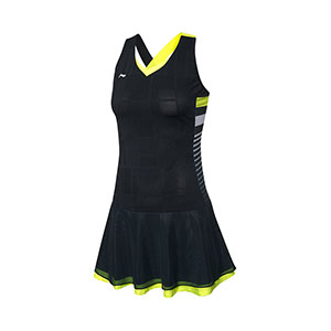 Li-Ning Badminton Dress 2020 International Tournament Women Badminton Dress Li ning ASKQ116-1-2