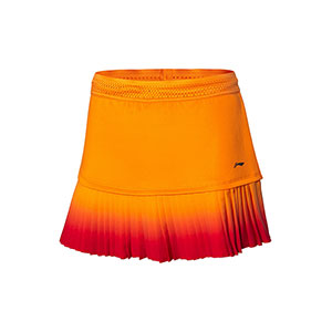Li-Ning Badminton Skirt 2020 All England Tournament Women Badminton Short skirt Li ning ASKQ098-1-2