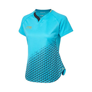 Li-Ning PingPong Jersey Women Table Tennis T-shirt Li ning AAYP072-3