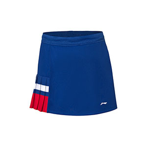 Li-Ning Badminton Skirt 2020 Tournament Women Badminton Short skirt Li ning ASKQ114-1-2