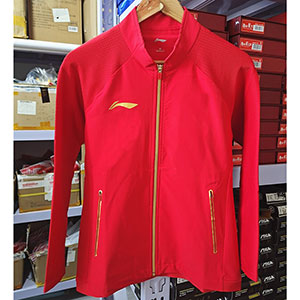 Li ning Table Tennis Jacket 2020 Li Ning Qatar Open Award Women Table Tennis Jacket Li-ning AYYQ002
