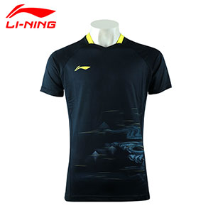 Li ning Table Tennis T-shirt 2020 Li Ning Fans TD Table Tennis Tshirt Li-ning AAYQ061