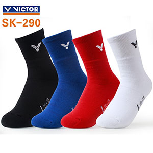 Women VICTOR Badminton Socks 2020 Sponsor Korea  Malaysia sports professional socks VICTOR SK290
