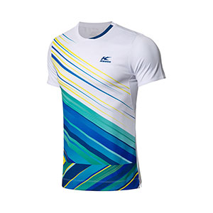 Men Badminton Jersey 2020 Kason Moisture wicking Quick-Drying BadmintonT-shirt Kason FAYN015-1-2-3