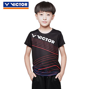 Children Badminton T-shirt 2020 Quick-drying VICTOR Badminton Jersey VICTOR T-02010