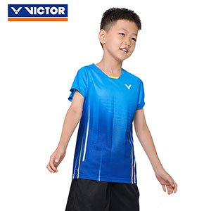 Children Badminton T-shirt 2020 Quick-drying VICTOR Badminton Jersey VICTOR T-02008