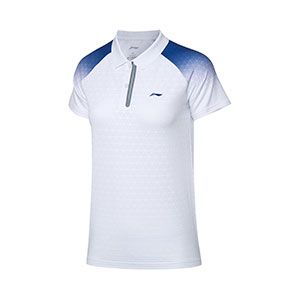 Women Badminton Jersey 2020 Li-Ning Quick-Drying Badminton Polo T-shirt Li ning APLQ024-1-2
