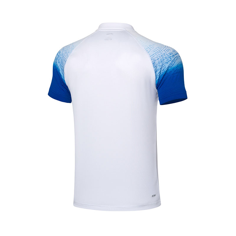 Men Badminton Jersey 2020 Li-Ning Antibacterial quick-drying short-sleeved Badminton polo shirt Li ning APLP233-1-2