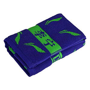Li Ning table tennis sports towel sweat towel badminton cotton wipe sweat towel professional game genuine size 40*90
