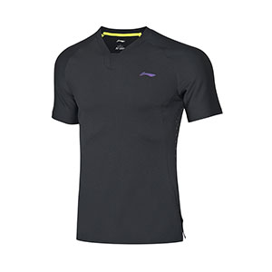 Men Badminton T-shirt 2020 combat Li-Ning Quick-drying Cool Badminton T-shirt Li ning AAYN173