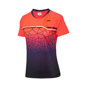 women´s quick-drying cool game jersey top  2020 Li-Ning Badminton tournament T-shirt Li ning AAYQ084