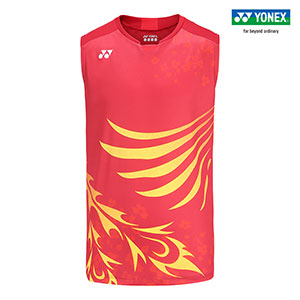 Men Badminton Jersey 2020 Japan Olympics Yonex Tournament style Badminton Wear sleeveless Yonex 10383EX