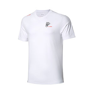 Badminton Cultural shirt 2020 Li-Ning AT DRY Quick-drying Men Badminton T-shirt Li ning AHSQ533-1-2-3