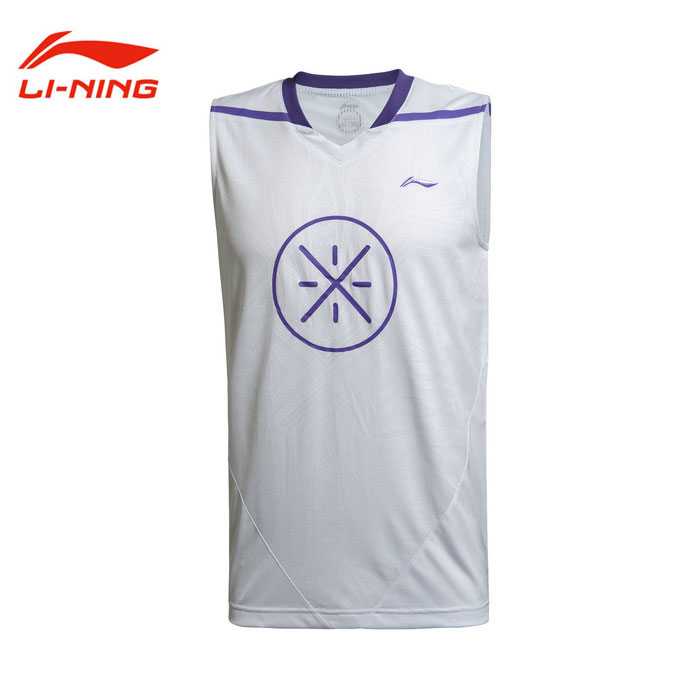 Lining Basketball Jersey 2014 Way of Wade II Basketball Tournament Top Li-Ning AAYJ061-1