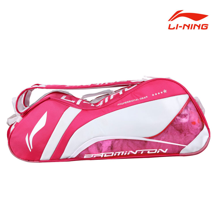 Li Xue Rui Badminton Bag 2014 Li-Ning New Women 6 Badminton Racket Bag Lining ABJJ048-3