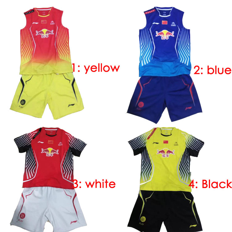 2014 Lining World Championship Badminton jersey and shorts Li-Ning CP