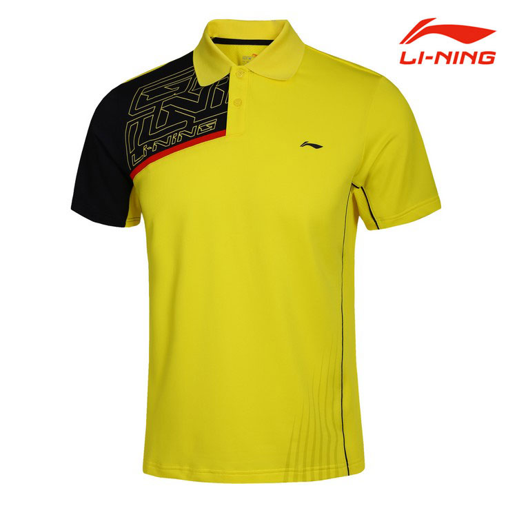 Men Badminton T-shirts Lining Quick-drying Badminton Short-sleeved,Li-ning AAYG225 AAYG349