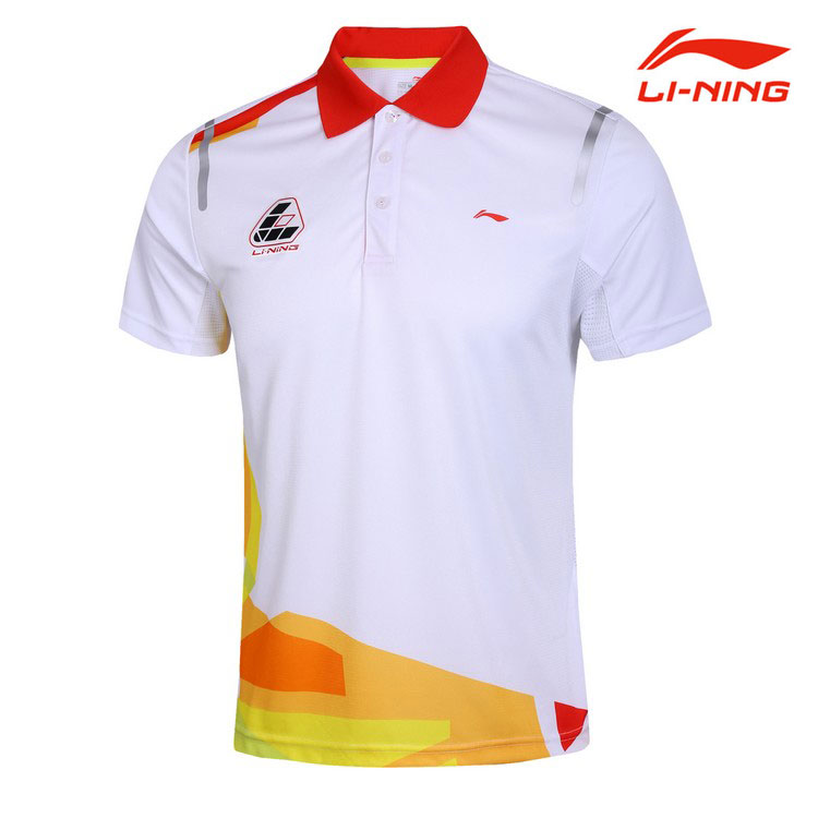 Men Badminton T-shirts Li-Ning Badminton Tournament T-shirts,Li-ning AAYG223 AAYG347