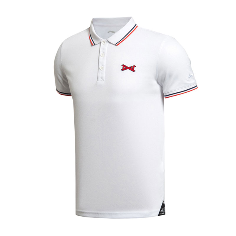 Li-Ning Wade Short-Sleeved Tshirt Sports and Leisure Shirt WOW Li Ning APLK041