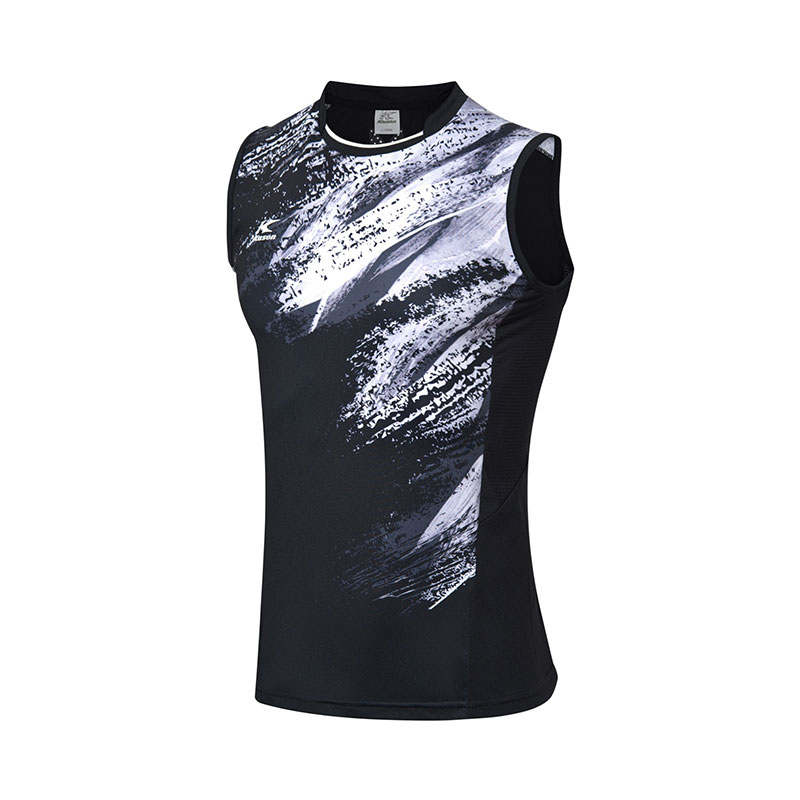 Kason Badminton Sleeveless: 2018 Men Badminton Jersey Quick Drying ,Kason FVSN003-1-2