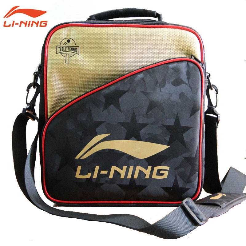 Li Ning Table Tennis Backpack 2018 Ping Pong Shoulder Bag Li-ning ABDN164