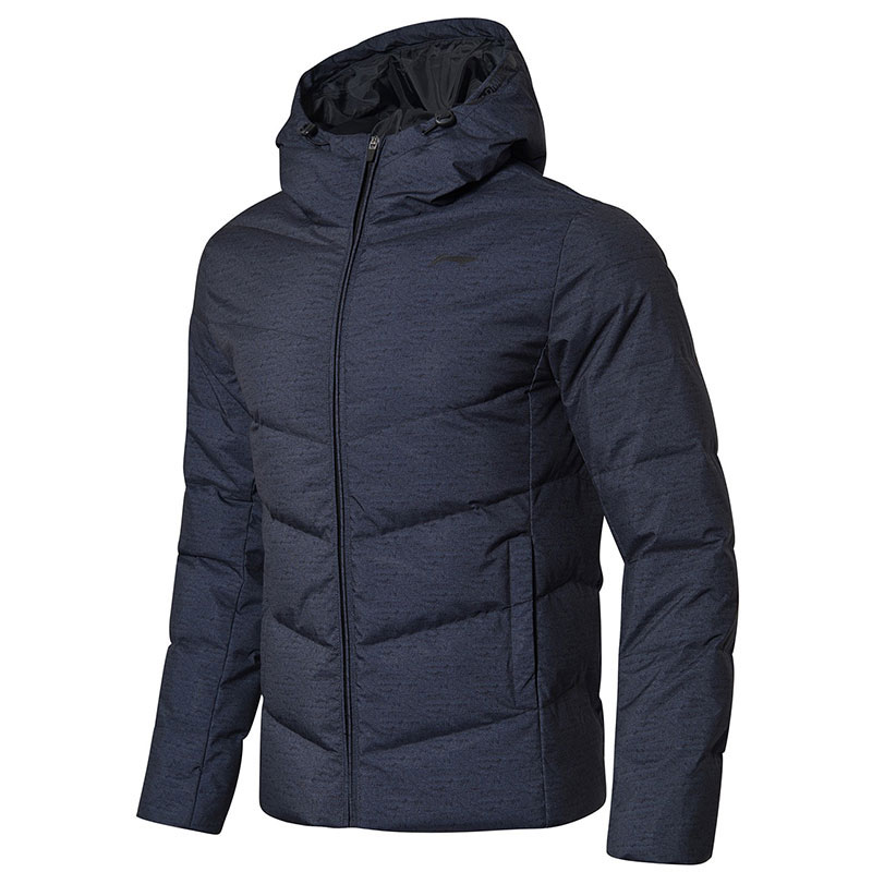 Li-ning Badminton Down Jacket:2018 Li Ning Men Badminton Down Jacket li-ning AYMN087