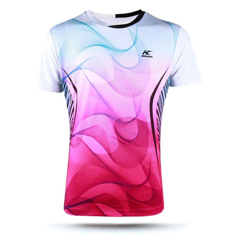 Kason Badminton Jersey 2017 Men Quick-drying Badminton T-shirt Kason FAYM011