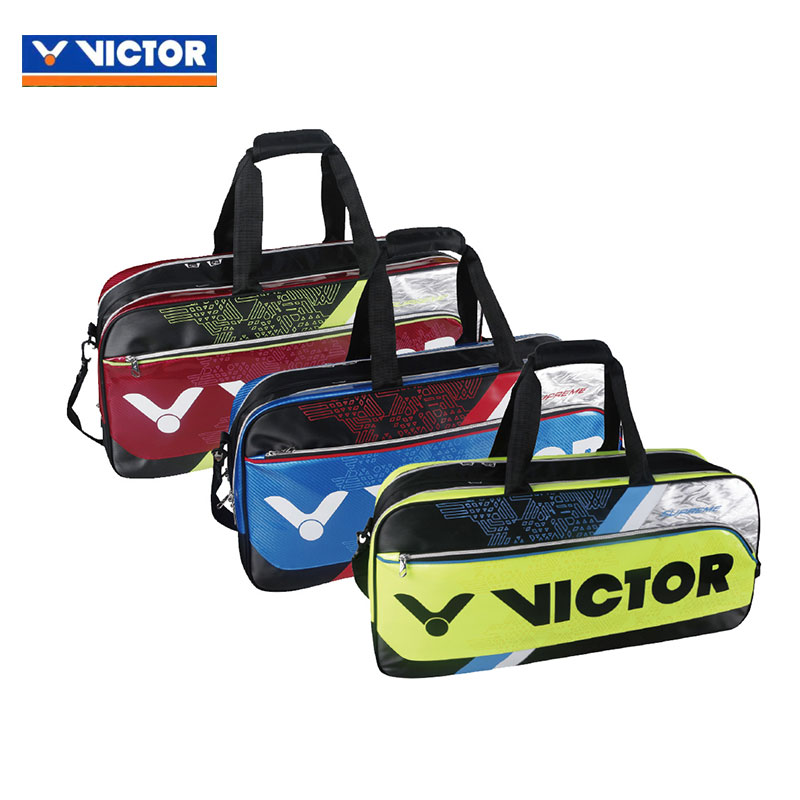 VICTOR Badminton Bag 2017 Rectangular 12 Racket Badminton Bag BR9607 D/F/G
