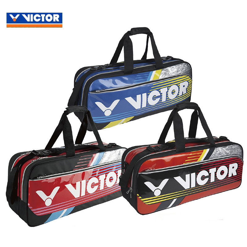VICTOR Badminton Bag 2017 NEW Rectangular 12 Racket Badminton Bag BR9607 DM/FP/OC