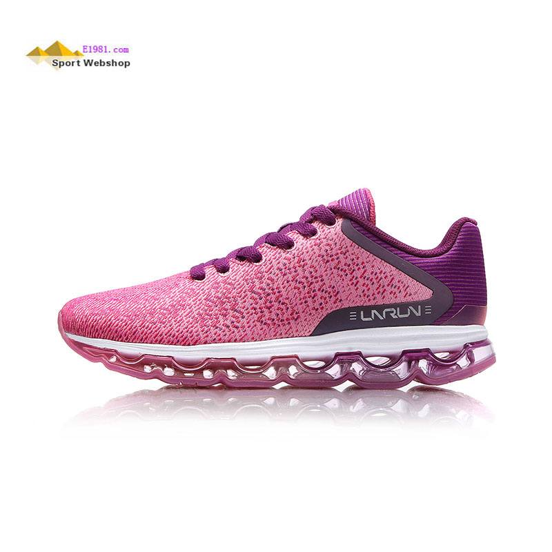 Li Ning Running Shoes 2017 Full Palm Air Cushion Light Night Women Sports Shoes Lining ARBM176