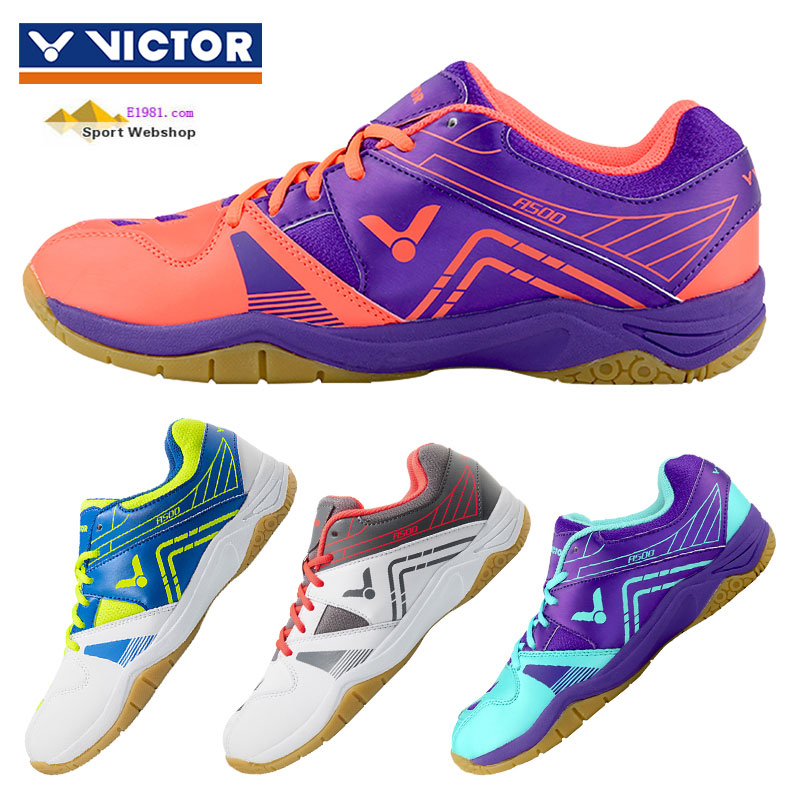 2017 Authentic VICTOR Badminton Shoes: Ultra-light Breathable Badminton Shoes, VICTOR A500