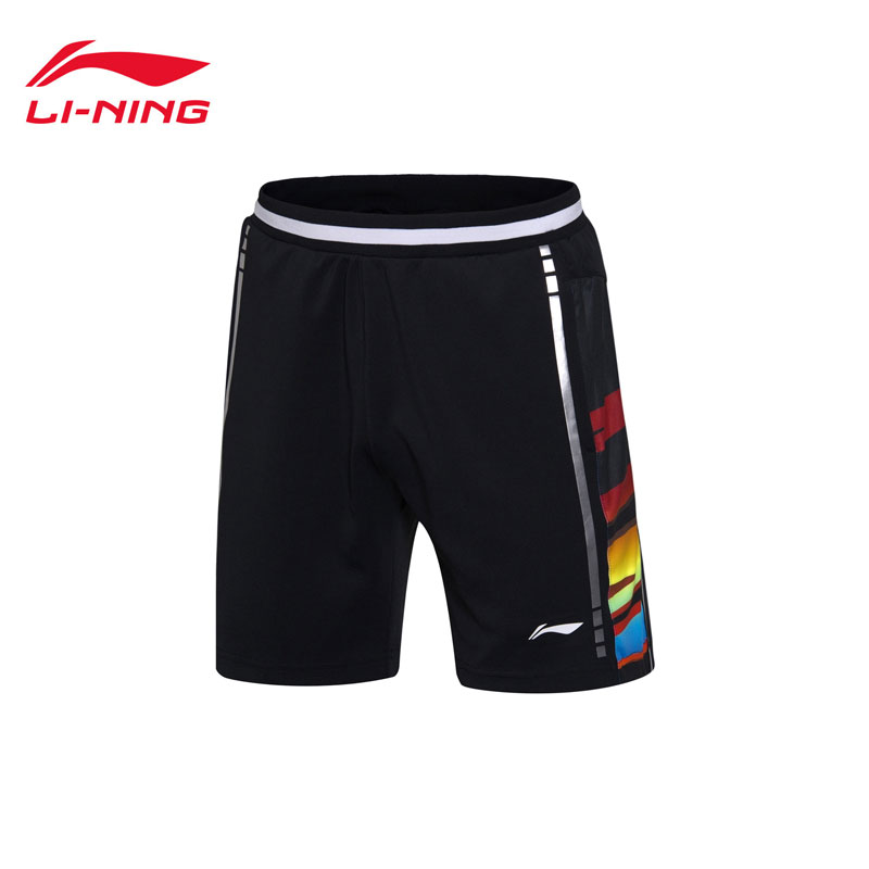 Li-Ning Badminton Shorts: 2017 World Championships CHINA Men Badminton Pants,Lining AAPM069
