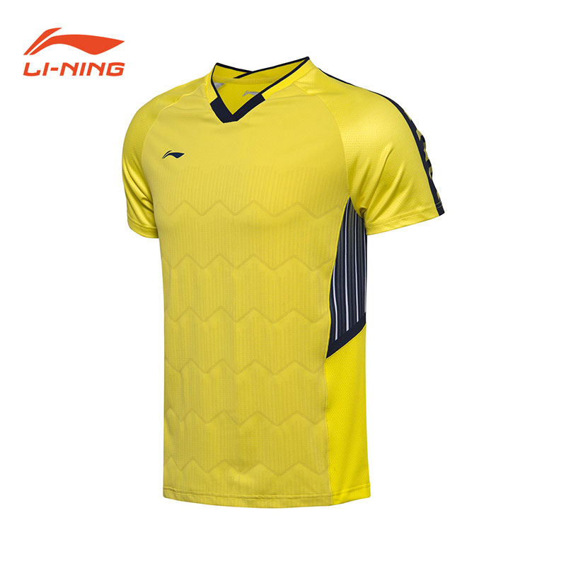 Men Badminton Jersey: 2018 Li-Ning Badminton Tournament T-shirt,Li-Ning AAYN003
