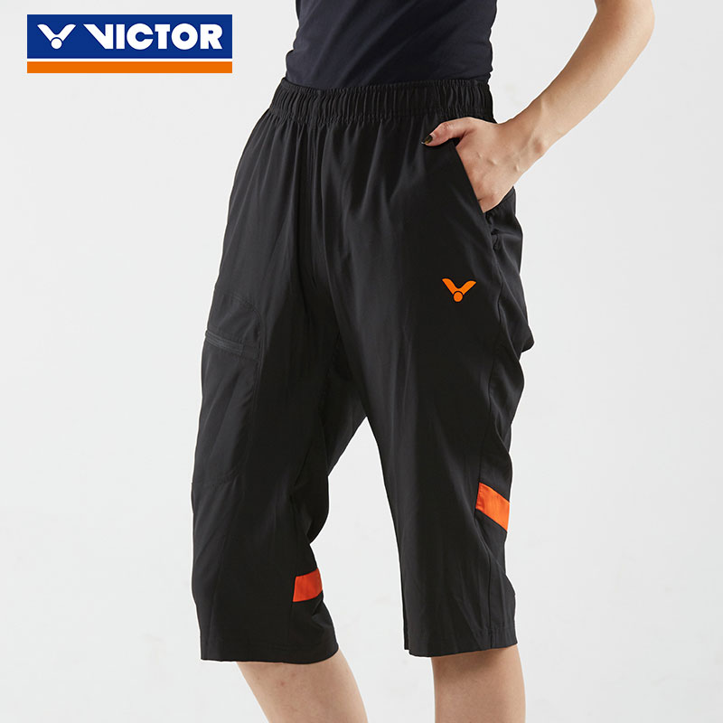 Victor Badminton Capri Pants 2018 Victor Badminton sports Cropped Pants Victor R-80210