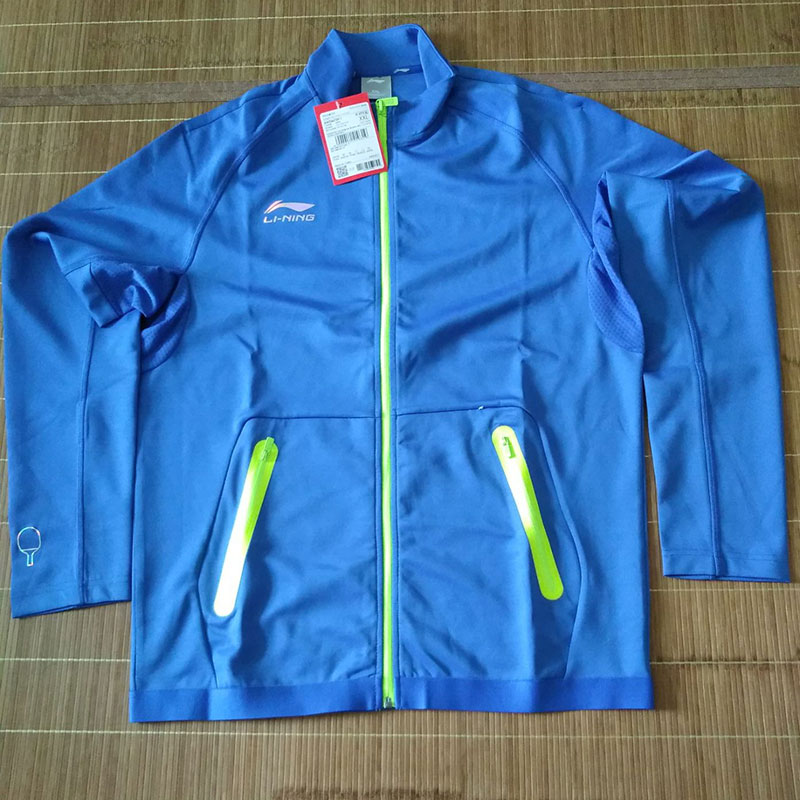 Li Ning Table Tennis Jacket 2018 CHINA Team Competition Ping Pong Jacket Li-ning AWDM739