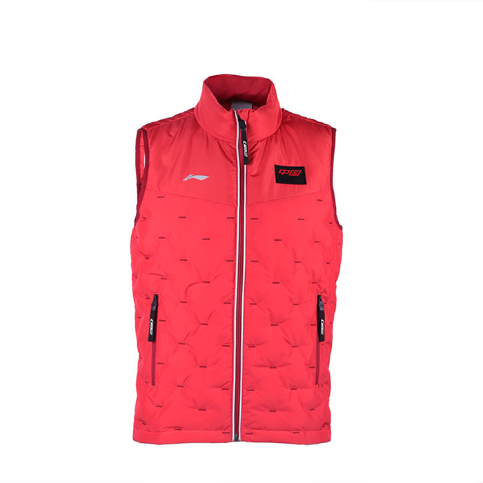 Li Ning sleeveless down jacket men´s 2020 table tennis down jacket warm and thick winter sportswear AYMQ191
